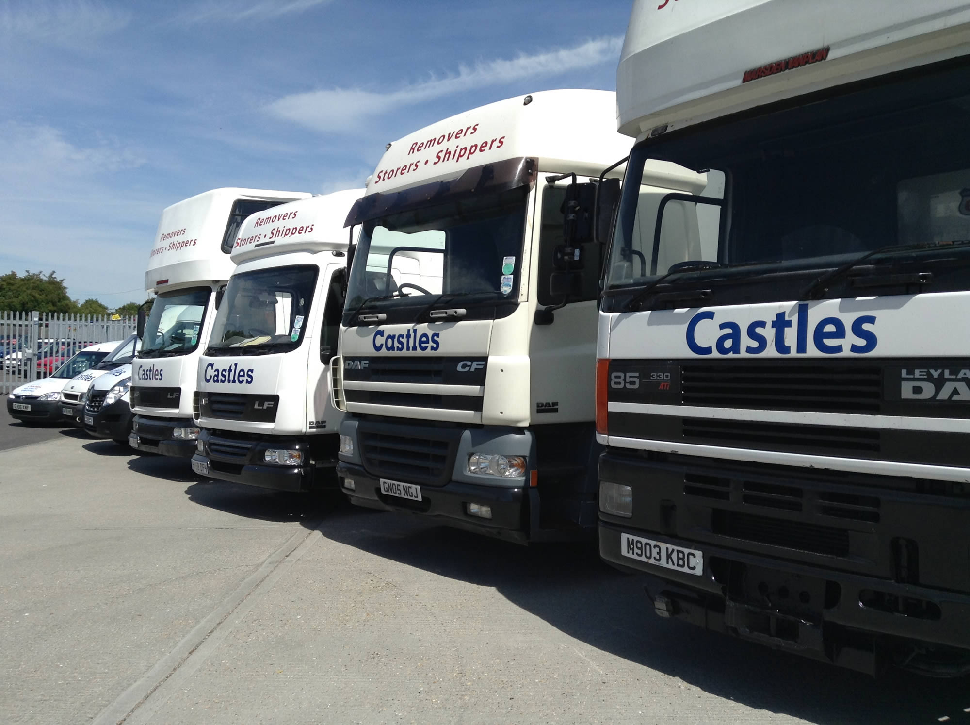 removal vehicle fleet