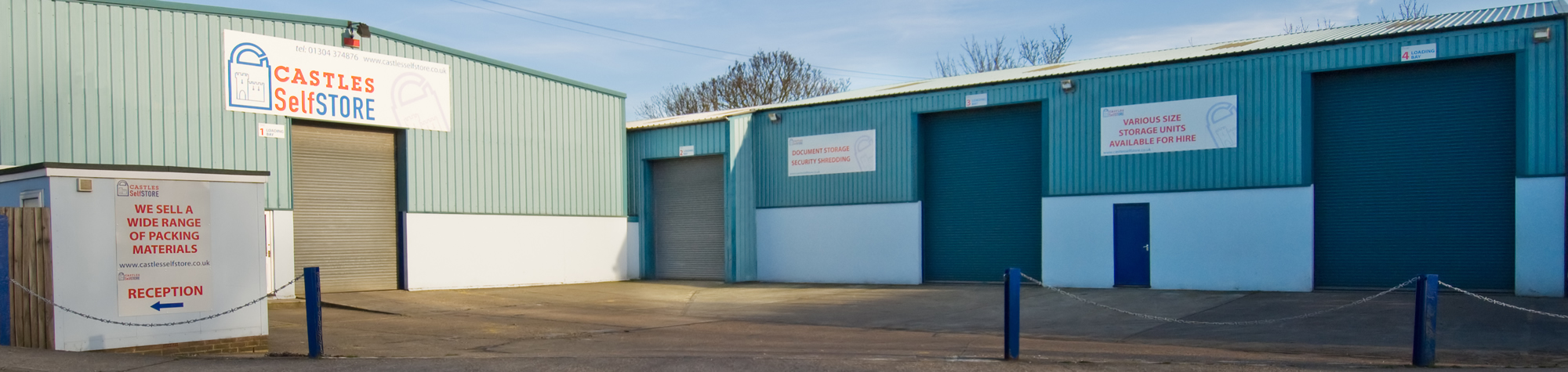 self storage facilities in Kent